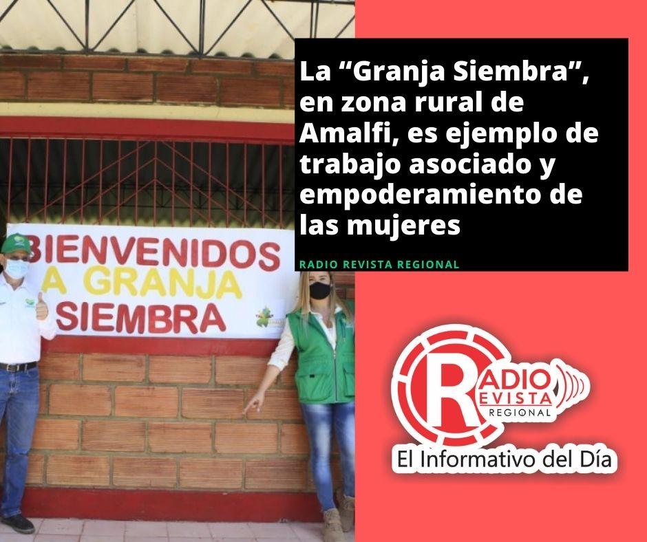 """La """"Granja Siembra"""", en zona rural de Amalfi, es ejemplo de trabajo asociado y empoderamiento de las mujeres"""