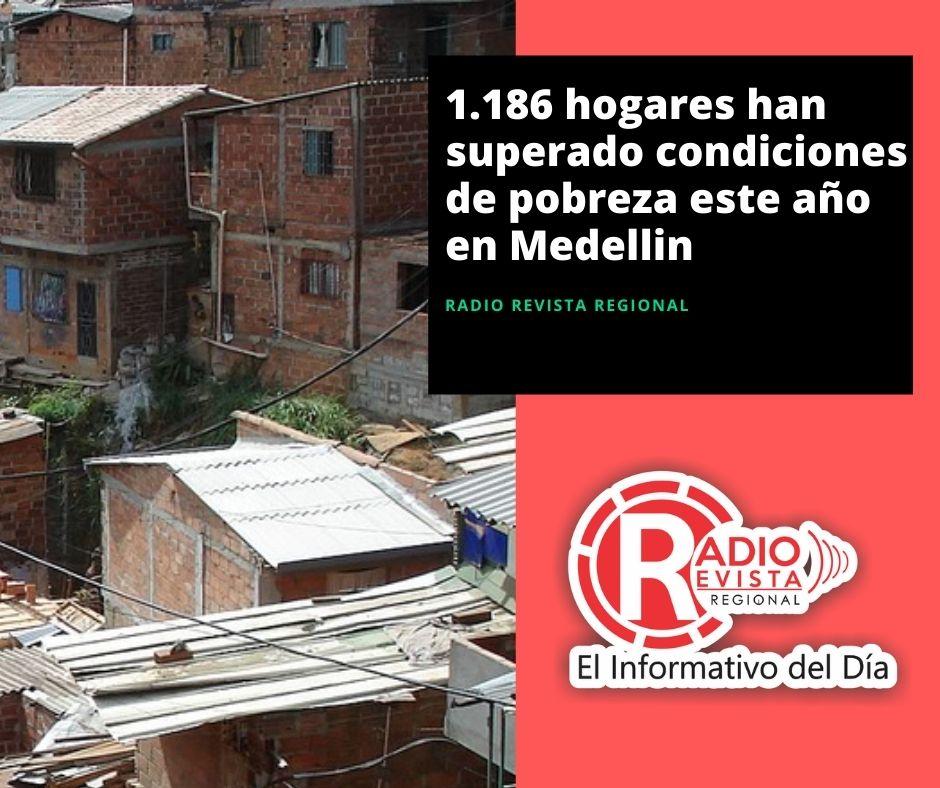 1.186 hogares han superado condiciones de pobreza este año