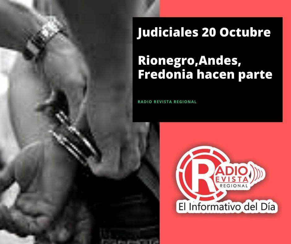 Judiciales 20 Octubre Rionegro,Andes,Fredonia hacen parte