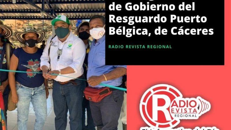 se inauguró la Casa de Gobierno del Resguardo Puerto Bélgica, de Cáceres