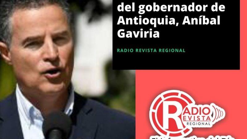 Libertad de Aníbal Gaviria Gobernador de Antioquia