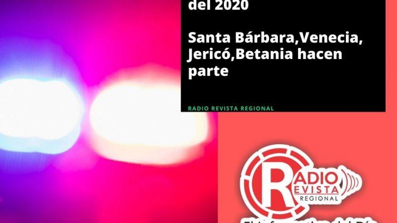 Judiciales 19 de Octubre SantaBárbara,Venecia,Jericó,Betania hacen parte
