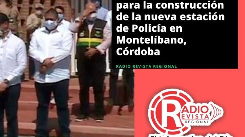 Firman convenio para la construcción de la nueva estación de Policía en Montelíbano, Córdoba