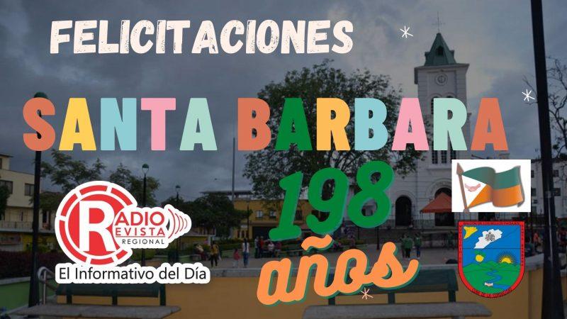Santa Barbara Antioquia 198 años