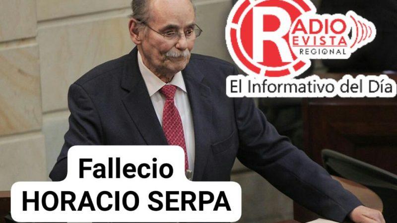 Falleció Horacio Serpa