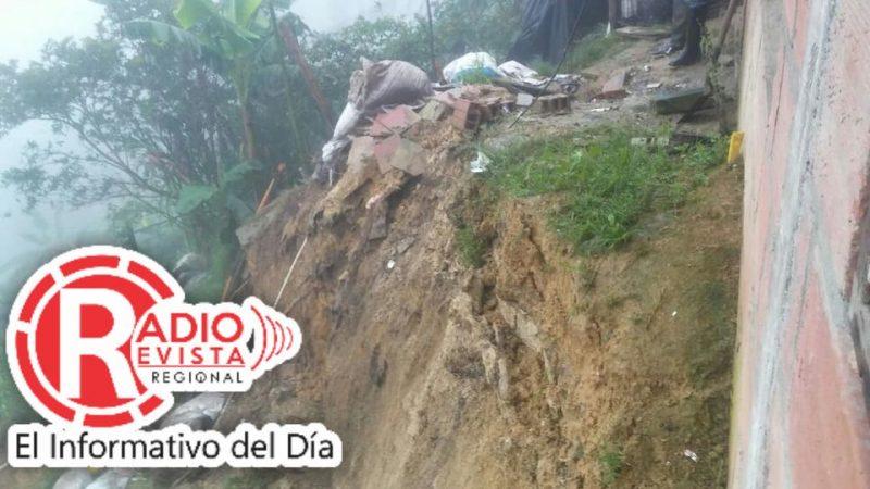 Afectaciones por lluvias en Santa Barbara Antioquia