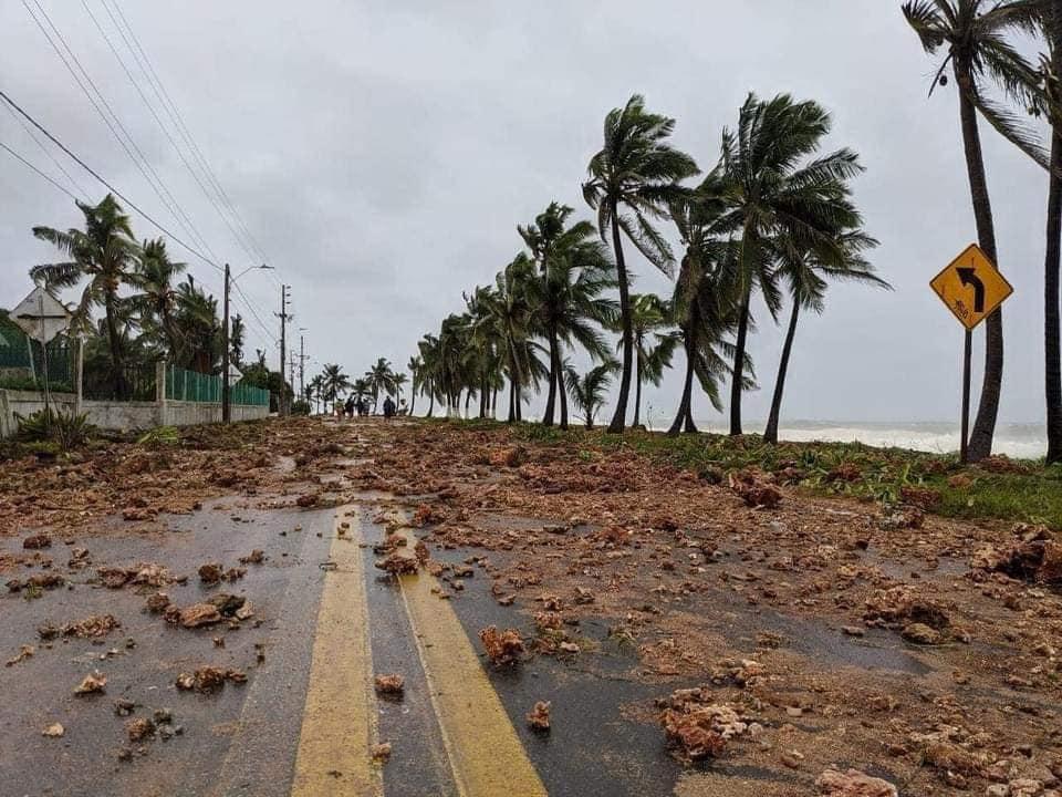 En Imágenes :  Así amaneció San Andres y providencia luego del huracán Iota
