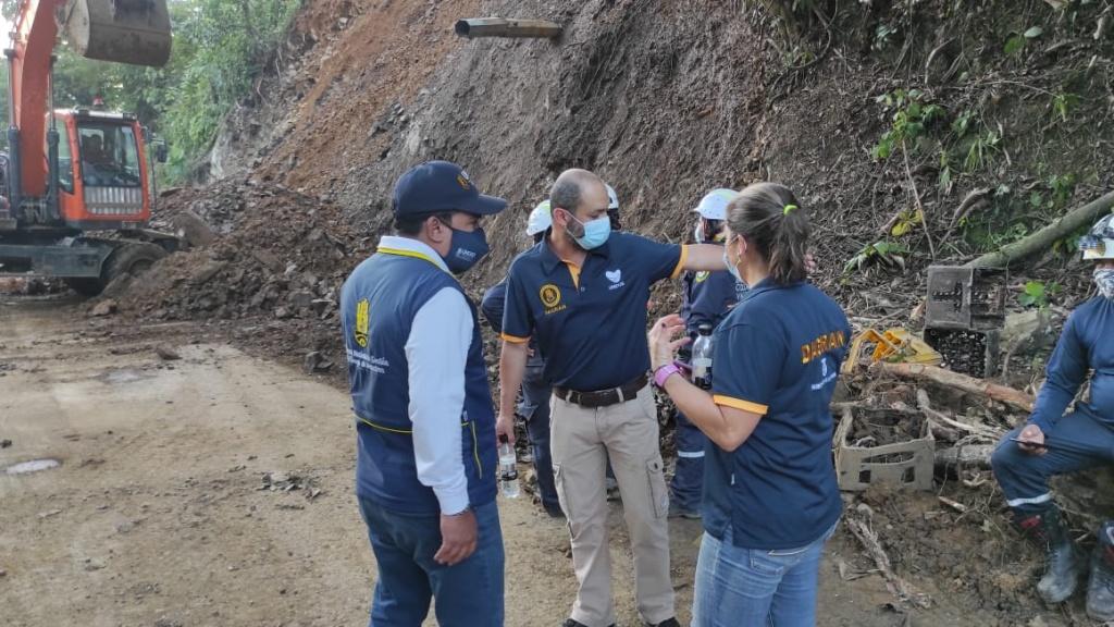 Se descartan nuevas víctimas fatales tras remoción del material en Puerto Valdivia
