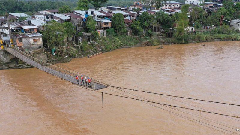 INVÍAS trabaja por recuperar la movilidad en la carretera Quibdó – La Mansa y abre licitación por $1342 millones para construir muelle en Lloró (Chocó)