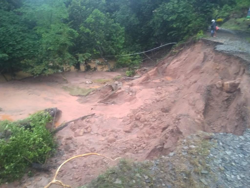 Siete eventos se presentaron en Antioquia por fuertes lluvias ocurridas en las últimas horas