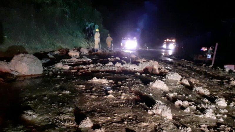 Tres emergencias por fuertes lluvias se presentaron en subregiones de Urabá, Suroeste y Bajo Cauca.