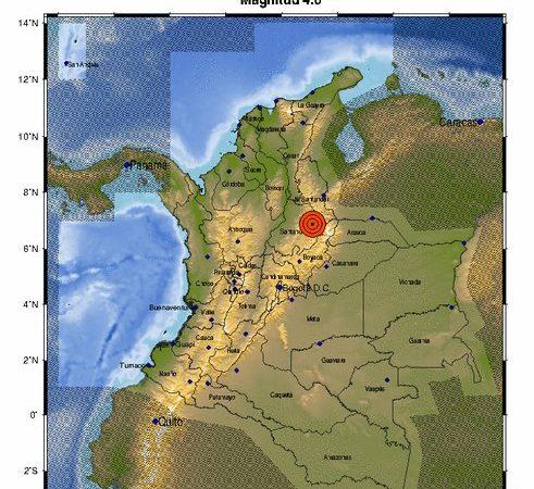 Lo sintió? temblor sacude el centro de Colombia