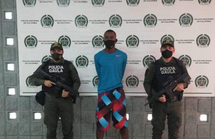 Asegurados cuatro presuntos integrantes de estructuras criminales dedicadas a la extorsión en el Chocó