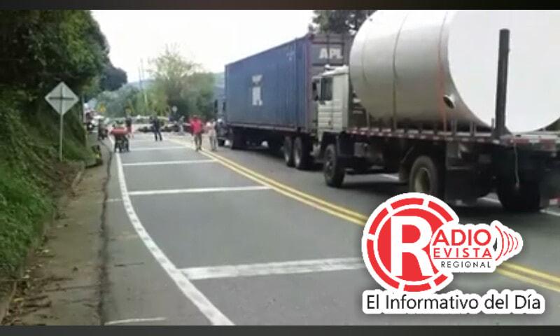 Fotos: Accidentes e incidentes viales en Antioquia y Eje Cafetero 26 de Diciembre