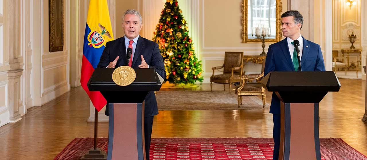 No reconocemos burla electoral y no descansaremos hasta ver libertad real en Venezuela: Duque