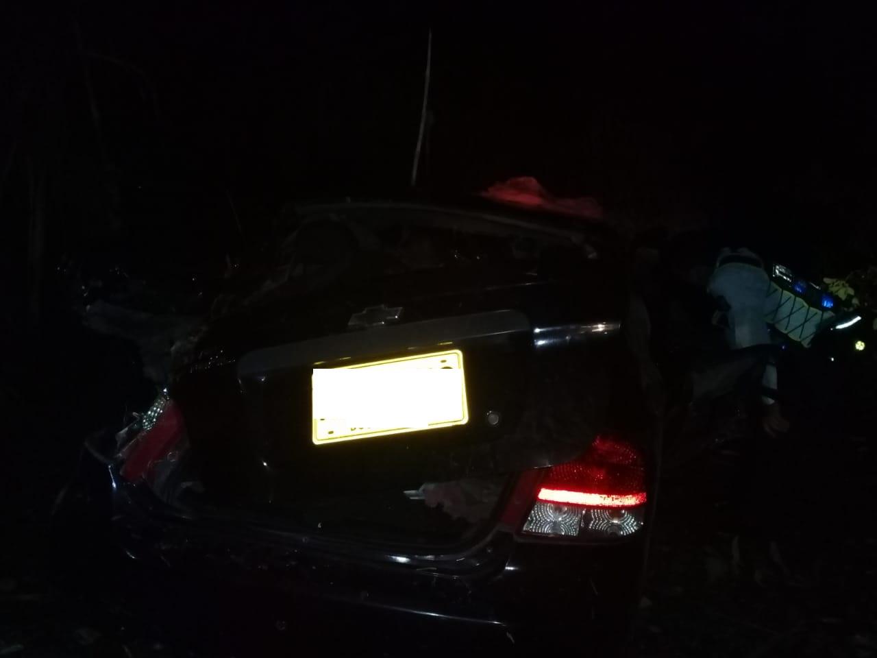 Tremendo Accidente¡¡ Vehículo se fue a un abismo en Santa Bárbara Antioquia