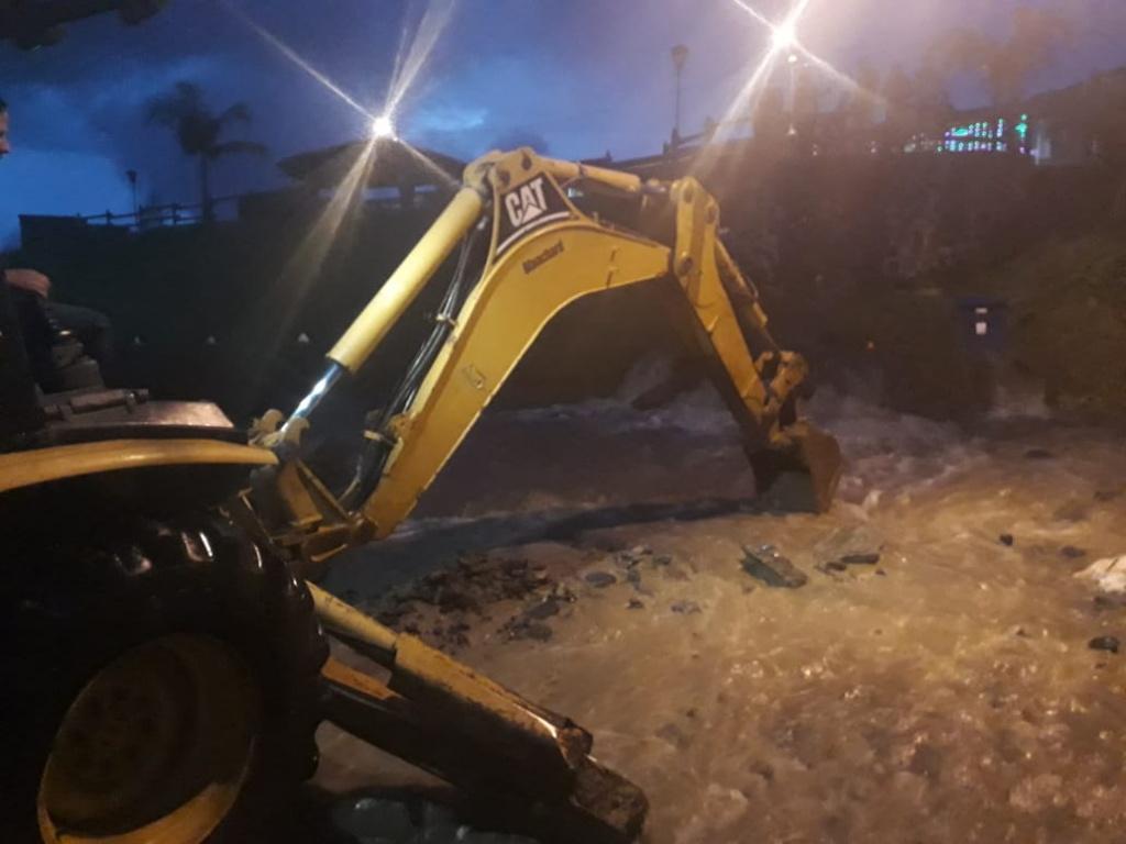 Seis eventos por fuertes lluvias y tres incendios estructurales fueron reportados al Dagran en los últimos días