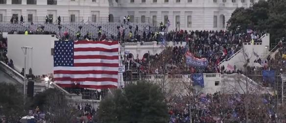 Se suspende la sesión en el Congreso de EE.UU. por protestas en el Capitolio