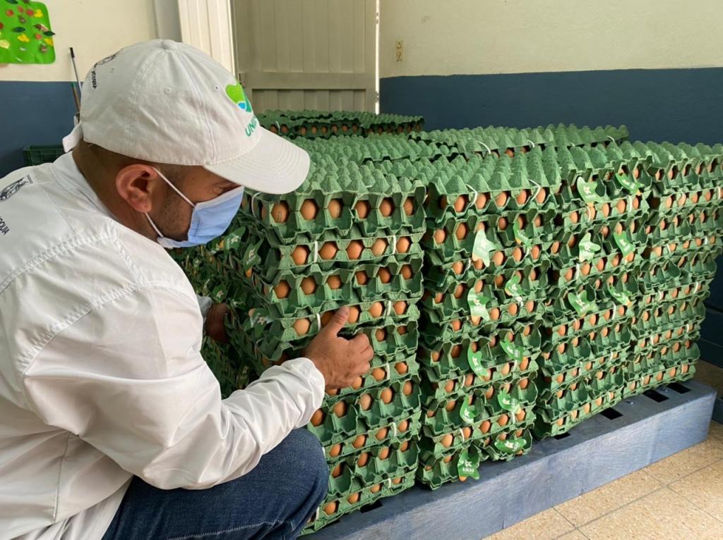 Arrancó la quinta entrega de paquetes alimentarios a más de 39.000 familias antioqueñas