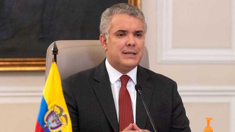 Duque puso en operación 65,2 kilómetros más del proyecto vial de Puerta del Hierro, en Bolívar