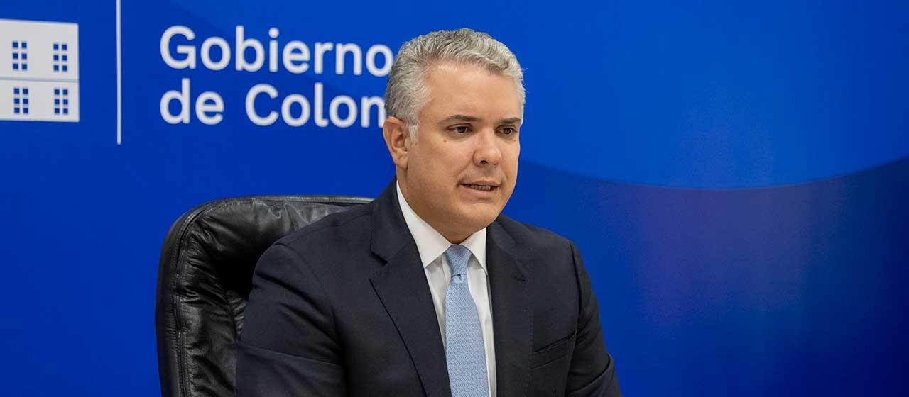 Colombia supera los dos millones de recuperados: Duque