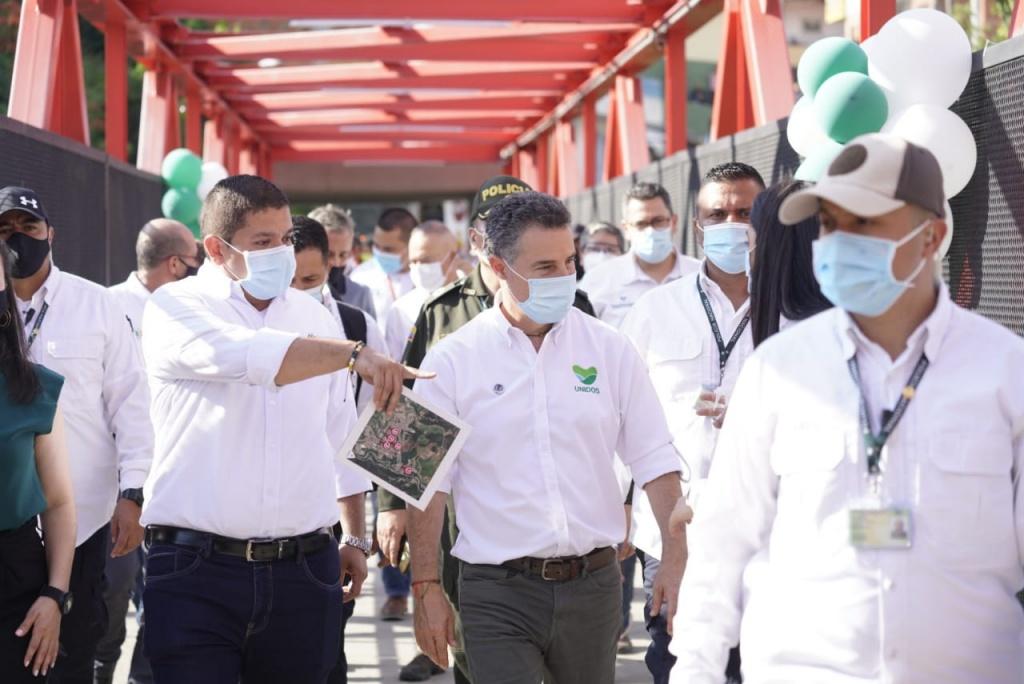 Gobernador de Antioquia recorrió importantes obras en Andes y asumió compromisos para seguir apoyando el municipio