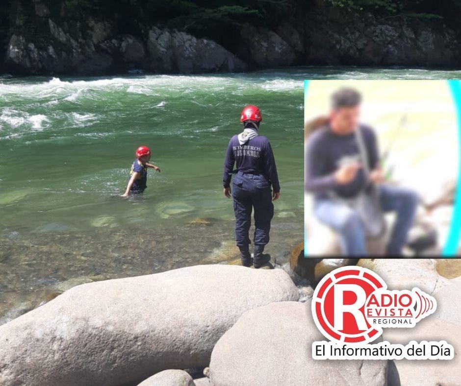 Sin vida fue encontrado el hombre que cayó al rio Samaná en San Luis Antioquia