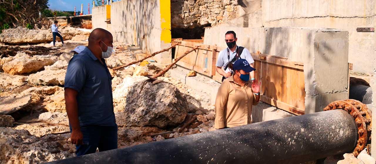 SuperServicios verificó avances en restablecimiento de los servicios públicos domiciliarios en San Andrés y Providencia