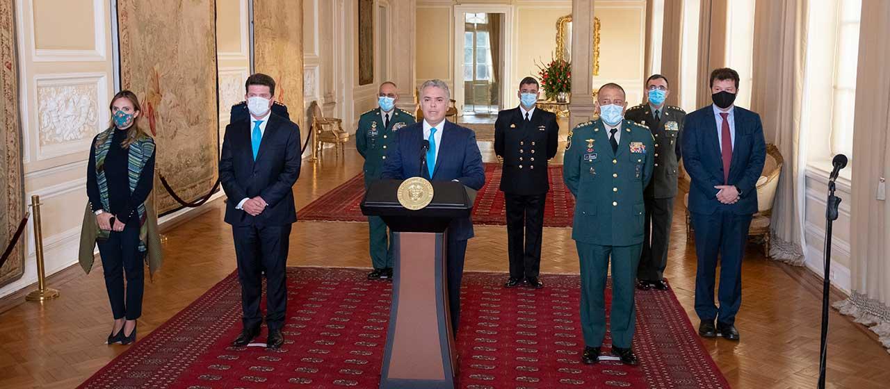 Presidente Duque designó a Diego Molano como nuevo Ministro de Defensa