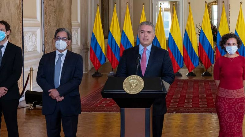 Presidente Duque designa a Mauricio Villamizar y Bibiana Taboada como nuevos codirectores del Banco de la República
