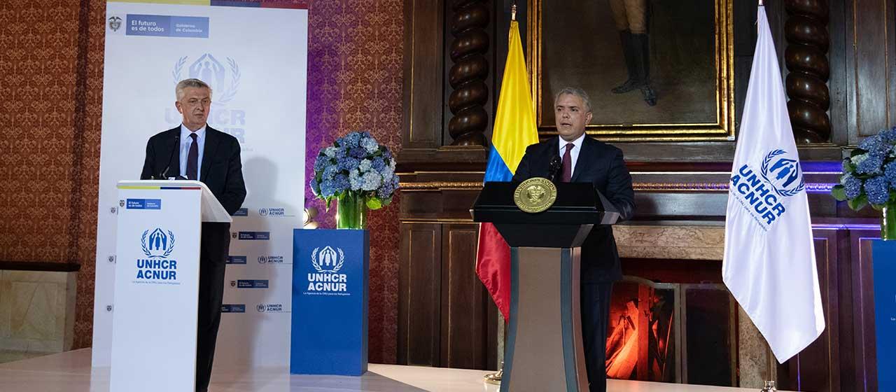 Colombia crea un Estatuto de Protección Temporal para migrantes venezolanos