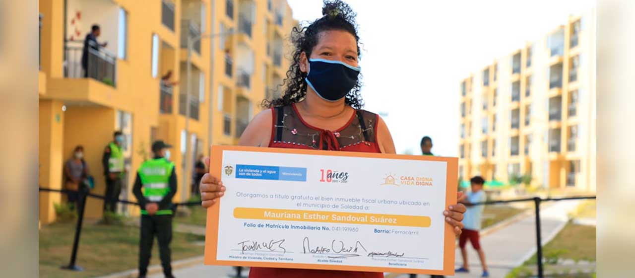 Este es el Gobierno que más subsidios de vivienda ha entregado al pueblo colombiano: Duque