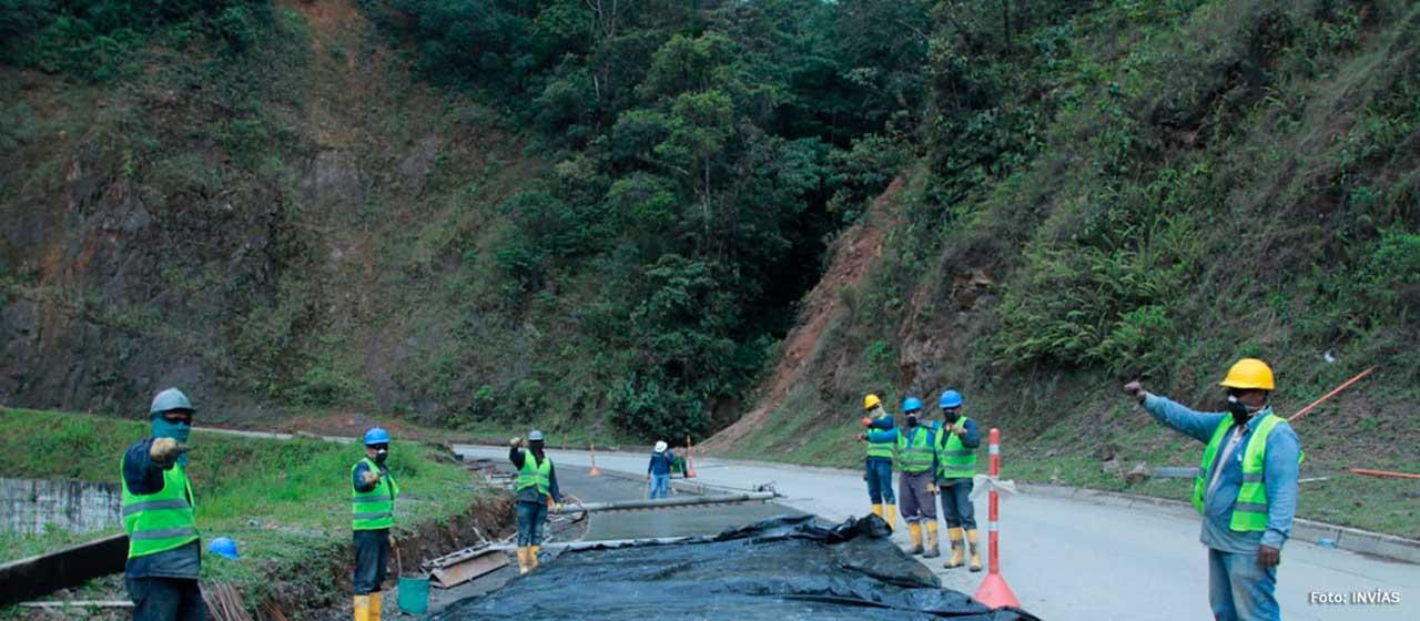 Invías inicia terminación de la pavimentación de la vía Quibdó-Pereira