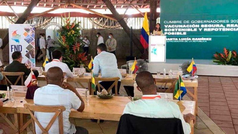 Vicepresidenta invita a gobernadores a impulsar proyectos que atraigan inversión y generen empleo