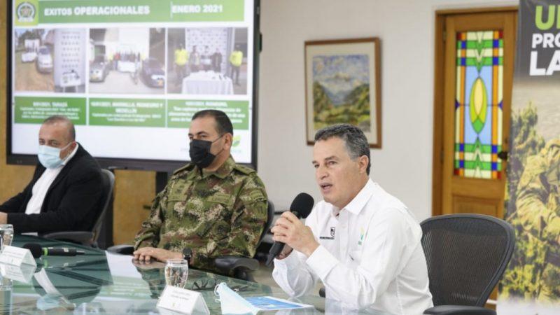 El Gobernador de Antioquia entregó balance de vacunación en el departamento y anunció la llegada de las vacunas de Pfizer