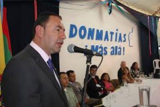 Procuraduría destituyó e inhabilitó por 14 años a exalcalde de Donmatías, Antioquia