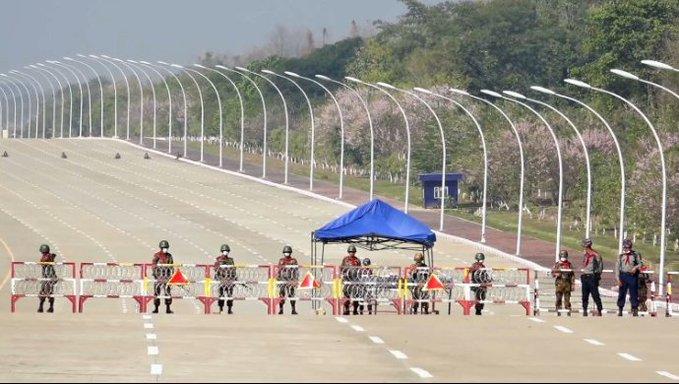 Líderes políticos e instituciones condenan el golpe de Estado del Ejército en Myanmar