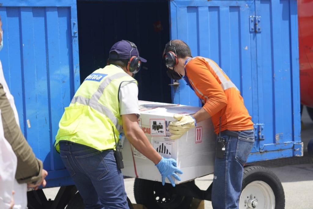 Llegaron las primeras dosis para iniciar el proceso de vacunación en el departamento de Antioquia