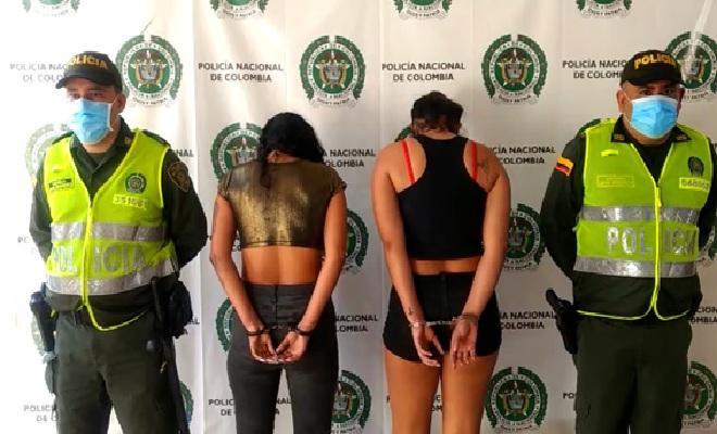 En Santander capturadas dos mujeres por el delito de homicidio