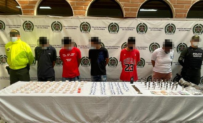 Ofensiva contra el crimen organizado en Bello Antioquia
