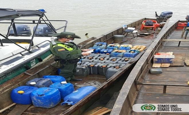 Ofensiva contra el contrabando de hidrocarburo en el Chocó