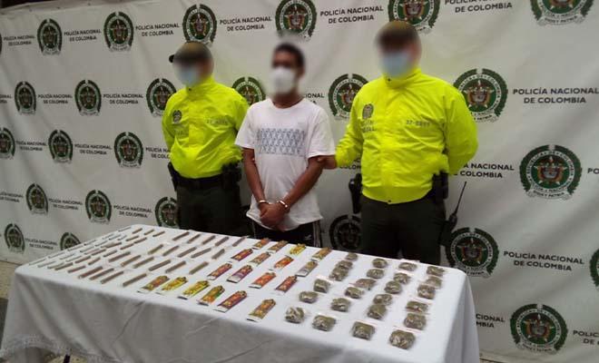 Seis capturados en operativos en el centro y barrio Antioquia de Medellín