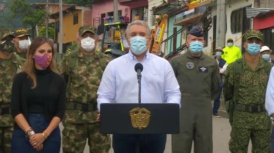 Vamos a desmantelar en 100 días cuanta olla de narcotráfico podamos: Presidente Duque