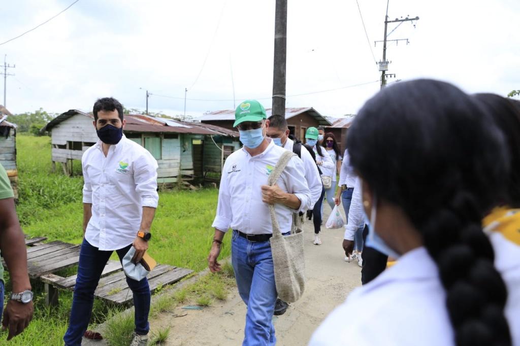 Departamento visitó Murindó para conocer la difícil situación de orden público que allí se vive