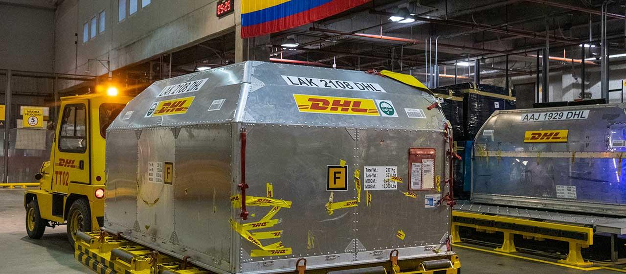 Colombia recibió este miércoles nuevo lote de 100.620 vacunas de Pfizer