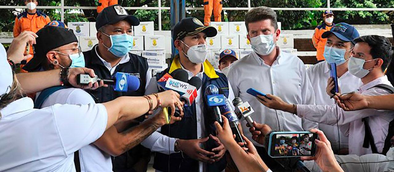 Para atender la crisis migratoria de venezolanos y colombianos, MinInterior instaló Puesto de Mando Unificado en Arauca