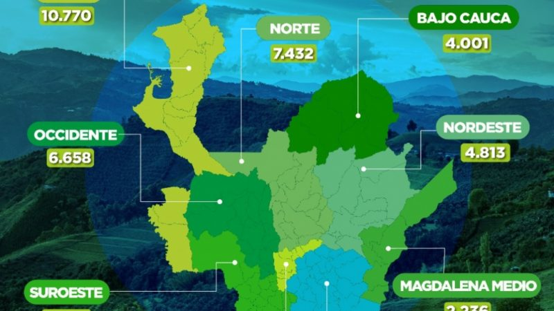 Con 23.171 dosis aplicadas, Antioquia llega a 257.074 vacunados contra COVID19
