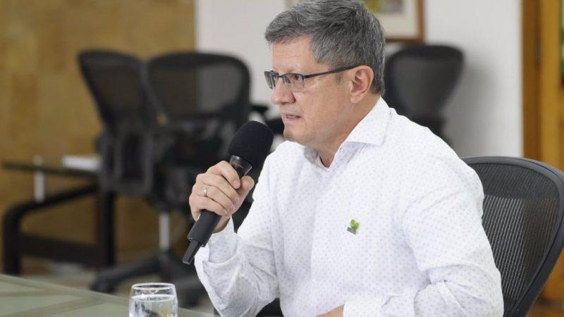 No estamos satisfechos con el avance del Plan de Vacunación en Antioquia Gobernador (e)