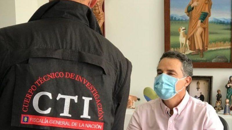 Fiscalía recapturó al Gobernador de Antioquia, Aníbal Gaviria