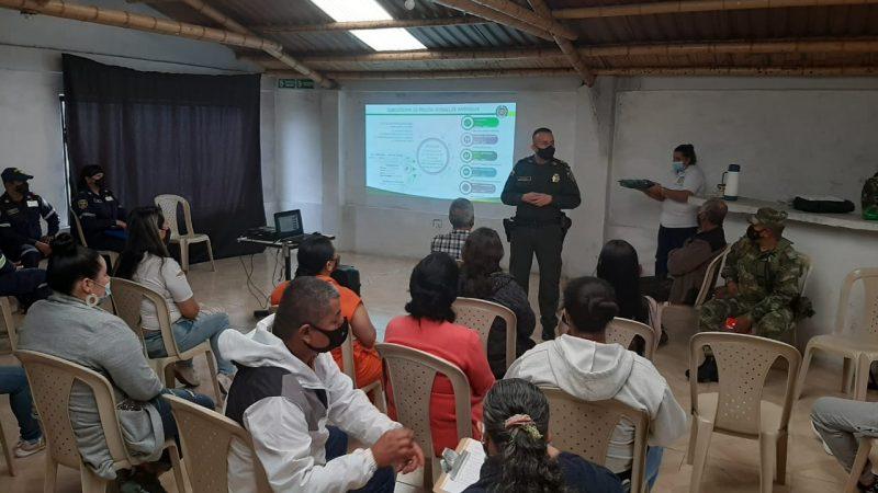 En Santa Bárbara Antioquia se llevó la primera campaña de formación en actividad económica